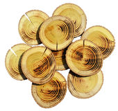 Wood slices Royalty Free Stock Images