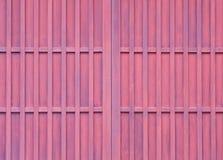 Wood sliding door Stock Photos