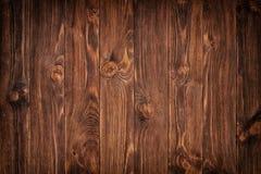 Wood slut för bakgrund för plankabrunttextur upp Arkivfoton