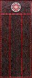 Wood snida för Batak folk. arkivbild