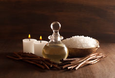 Wood Spa Royalty Free Stock Photography