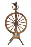 Wood spinning wheel Royalty Free Stock Photo