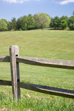 Wood Split Rail Fence Royalty Free Stock Photos