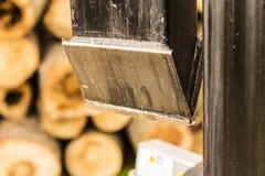 Wood splitter Stock Image