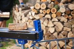 Wood splitters, firewood Royalty Free Stock Image