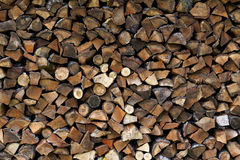 Wood splitting Royalty Free Stock Photo