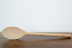 Wood spoon Royalty Free Stock Images