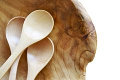 Wood Spoons Stock Image