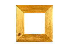 Wood square frame Royalty Free Stock Photos