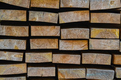 Wood square shape Royalty Free Stock Photos
