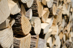 Wood stack Stock Photos