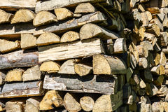 Wood stack Stock Images