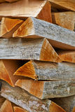 Wood Stack Stock Image