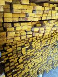 Wood stack Stacked together cross section Nature cut into pieces for decorating work or Structure. Wood stack Stacked together Nature cut into pieces for stock photos