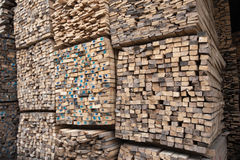 Wood stacker Royalty Free Stock Photography
