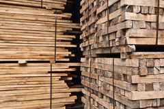 Wood stacker Stock Photos