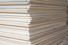 Wood stacking Royalty Free Stock Photography