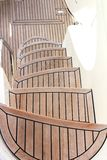 Wood stair Stock Photo