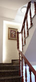 Wood stairs Stock Photo