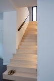 Wood stairs, interior Royalty Free Stock Photography