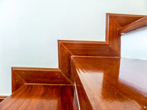 Wood stairs Stock Photography