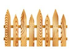 Wood staket Royaltyfri Foto