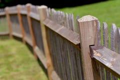 Wood staket royaltyfria foton