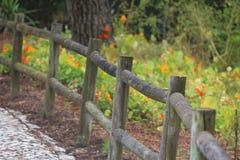 Wood staket Royaltyfri Bild