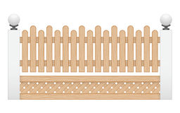 Wood staket Royaltyfri Fotografi