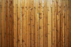 Wood staket Backdrop arkivbild
