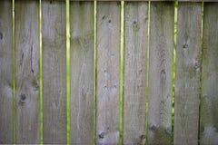 Wood staket för textur Arkivbilder