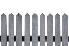 Wood staket med isolaten för snabb bana Royaltyfri Bild