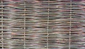 Wood staketbakgrundstextur Royaltyfria Bilder