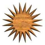 Wood star Royalty Free Stock Image