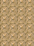 Wood star tile floor/ceiling Stock Image
