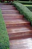 Wood step Royalty Free Stock Image