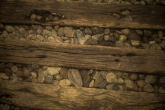 Wood steps royalty free stock photography