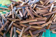 Wood Stick Pile Royalty Free Stock Photo
