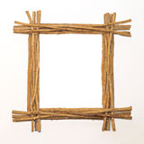 Wood sticks frame Royalty Free Stock Image