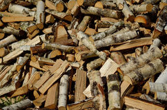 Wood sticks. Lots of wood sticks found during the manufacturing process royalty free stock photos