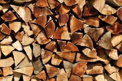 Wood stock Royalty Free Stock Photography