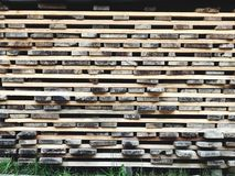 Wood Stock. Wood Pile stock Royalty Free Stock Images