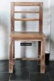 Wood stol Fotografering för Bildbyråer