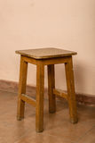 Wood stool Stock Photo