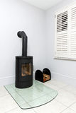 Wood stove Royalty Free Stock Images