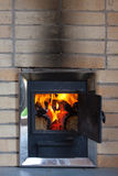 Wood stove Royalty Free Stock Image