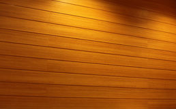 Wood Strip Wall Royalty Free Stock Photography