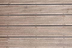 Wood stripes facade building decor Royalty Free Stock Image