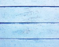 Wood strips painted blue Stock Photos