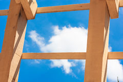 Wood struktur Arkivbilder